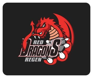 Red Dragons - Mousepad
