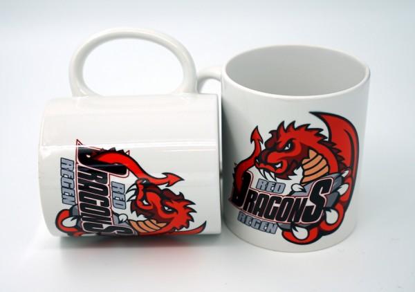 Red Dragons - Tasse