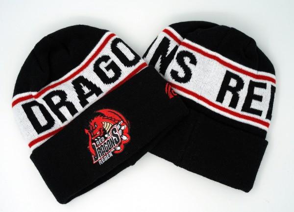 Red Dragons Mütze