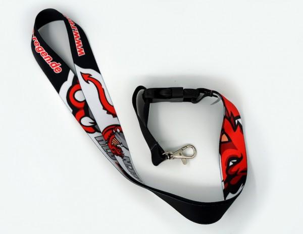 Red Dragons - Schlüsselband