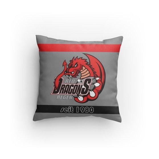 Red Dragons - Sofakissen