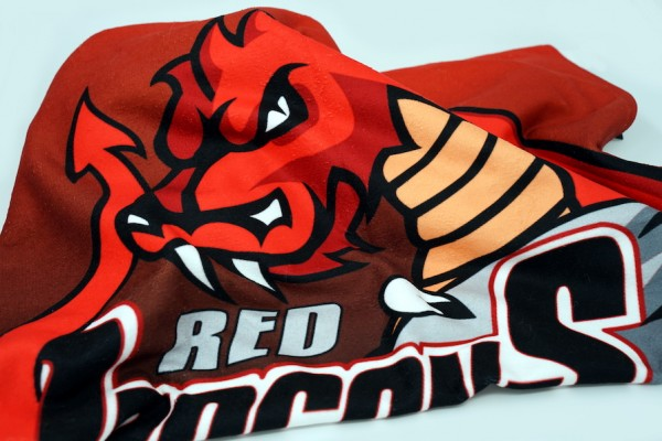 Red Dragons - Badetuch